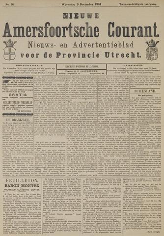 Nieuwe Amersfoortsche Courant 1903-12-09