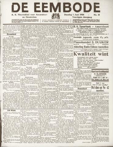 De Eembode 1926-06-01