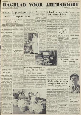 Dagblad voor Amersfoort 1951-02-15