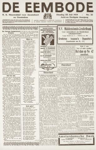 De Eembode 1924-07-22