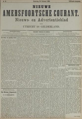 Nieuwe Amersfoortsche Courant 1886-02-20