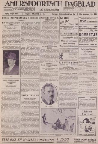 Amersfoortsch Dagblad / De Eemlander 1935-04-05