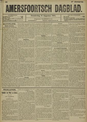 Amersfoortsch Dagblad 1905-08-10