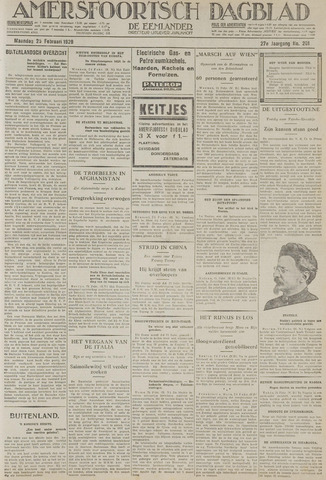 Amersfoortsch Dagblad / De Eemlander 1929-02-25