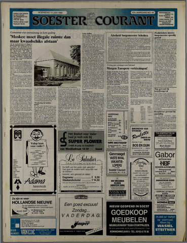 Soester Courant 1989-06-14