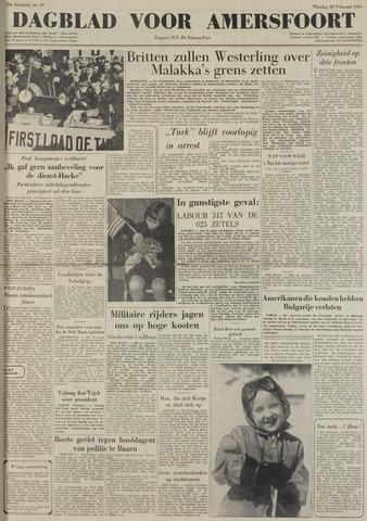 Dagblad voor Amersfoort 1950-02-28