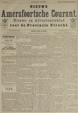 Nieuwe Amersfoortsche Courant 1896-07-18