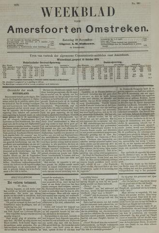Weekblad voor Amersfoort en Omstreken 1878-11-30