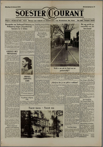 Soester Courant 1971-02-16