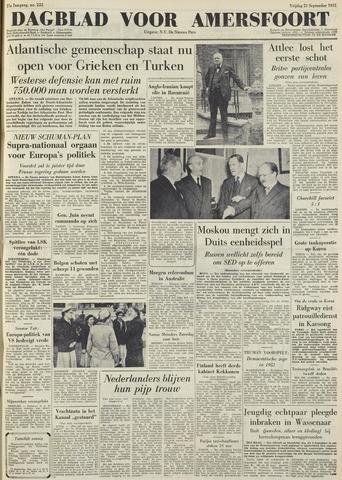 Dagblad voor Amersfoort 1951-09-21