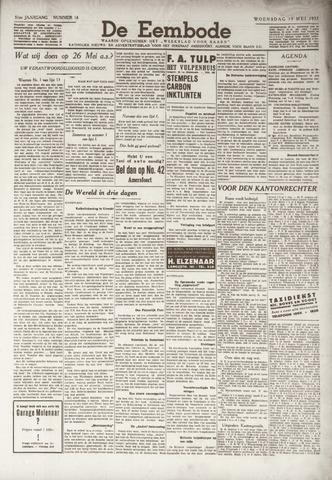 De Eembode 1937-05-19