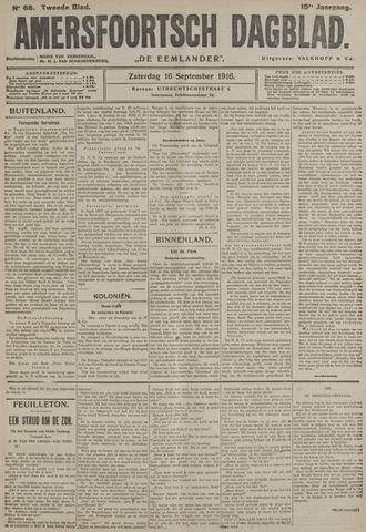 Amersfoortsch Dagblad / De Eemlander 1916-09-16