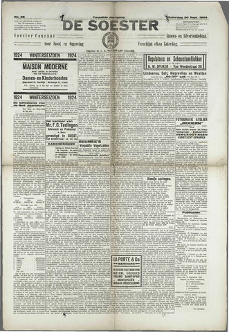 Soester Courant 1924-09-20