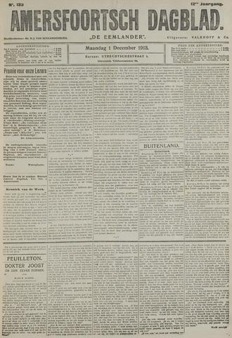Amersfoortsch Dagblad / De Eemlander 1913-12-01