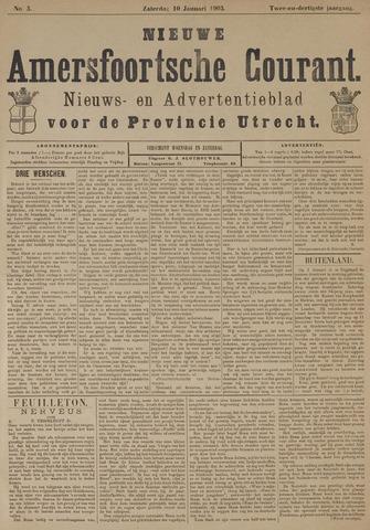 Nieuwe Amersfoortsche Courant 1903-01-10