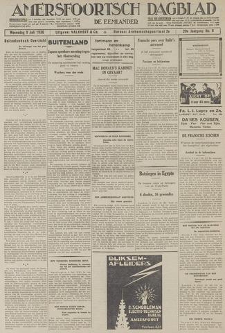 Amersfoortsch Dagblad / De Eemlander 1930-07-09