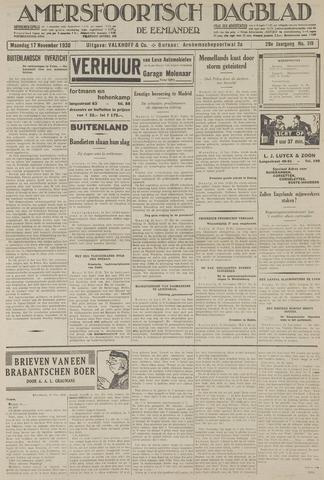 Amersfoortsch Dagblad / De Eemlander 1930-11-17