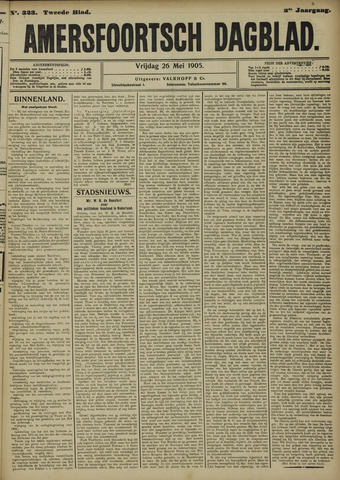 Amersfoortsch Dagblad 1905-05-26