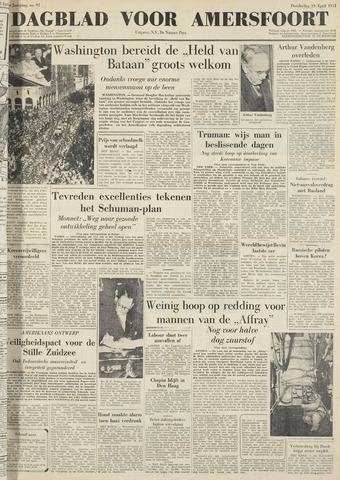 Dagblad voor Amersfoort 1951-04-19