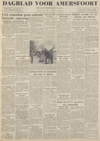 Dagblad voor Amersfoort 1947-04-29