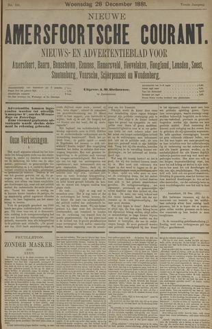 Nieuwe Amersfoortsche Courant 1881-12-28