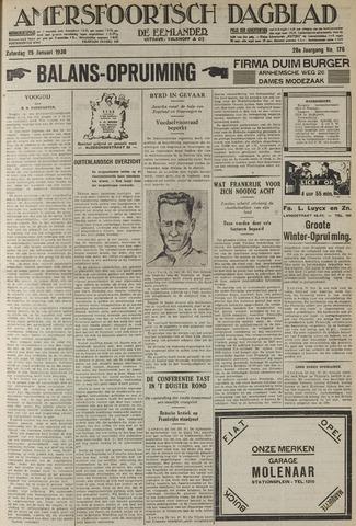 Amersfoortsch Dagblad / De Eemlander 1930-01-25