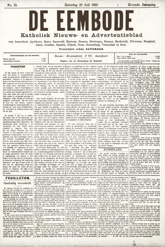 De Eembode 1893-07-29