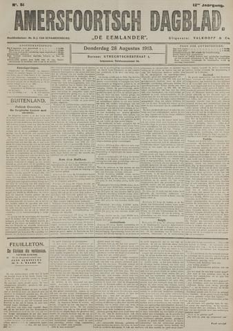 Amersfoortsch Dagblad / De Eemlander 1913-08-28