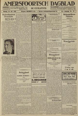 Amersfoortsch Dagblad / De Eemlander 1932-07-26