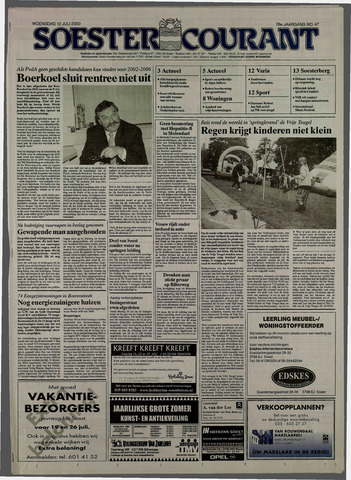 Soester Courant 2000-07-12