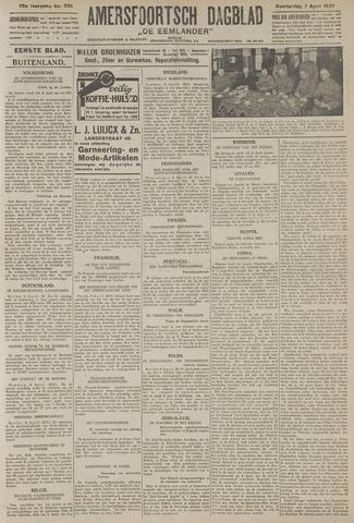 Amersfoortsch Dagblad / De Eemlander 1927-04-07