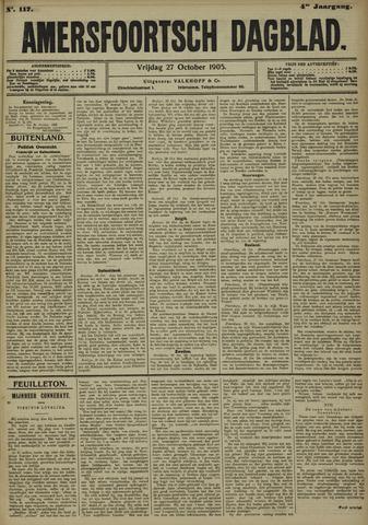 Amersfoortsch Dagblad 1905-10-27