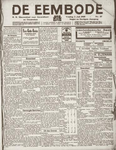 De Eembode 1925-07-03