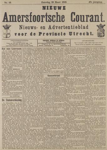 Nieuwe Amersfoortsche Courant 1919-03-29