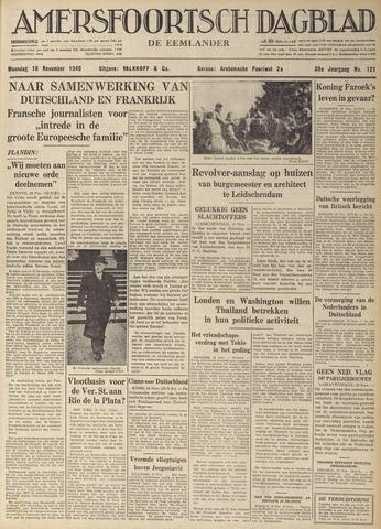 Amersfoortsch Dagblad / De Eemlander 1940-11-18