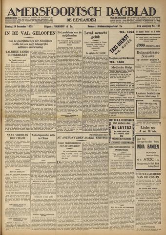 Amersfoortsch Dagblad / De Eemlander 1935-12-24