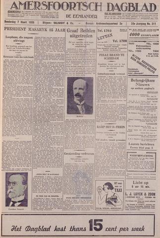 Amersfoortsch Dagblad / De Eemlander 1935-03-07