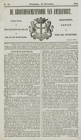 Arrondissementsbode van Amersfoort 1849-11-13