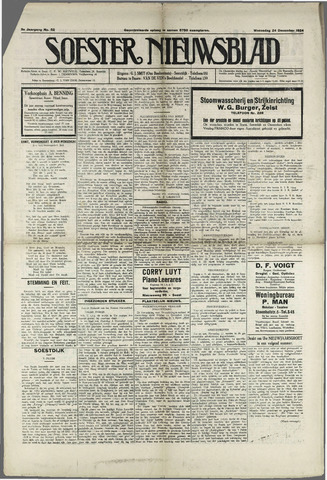 Soester Courant 1924-12-24