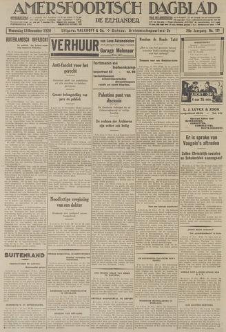 Amersfoortsch Dagblad / De Eemlander 1930-11-19