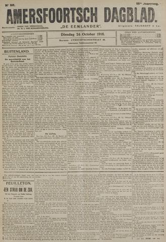 Amersfoortsch Dagblad / De Eemlander 1916-10-24