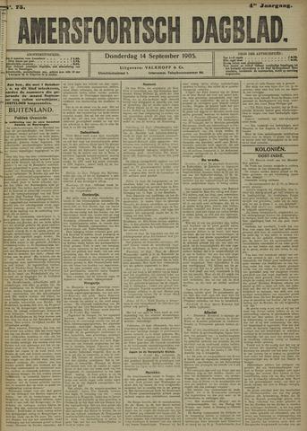 Amersfoortsch Dagblad 1905-09-14