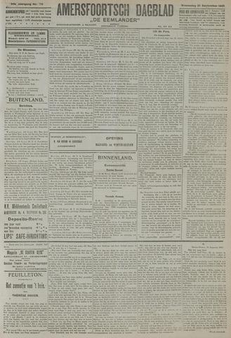Amersfoortsch Dagblad / De Eemlander 1921-09-21