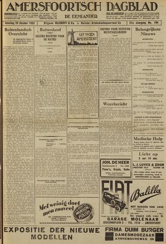 Amersfoortsch Dagblad / De Eemlander 1932-10-29