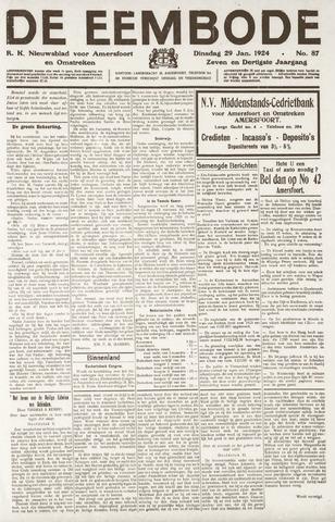 De Eembode 1924-01-29