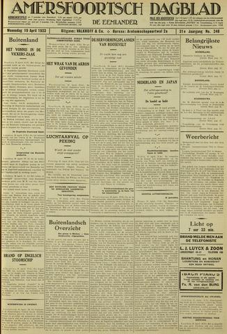 Amersfoortsch Dagblad / De Eemlander 1933-04-19