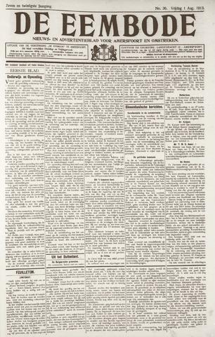 De Eembode 1913-08-01
