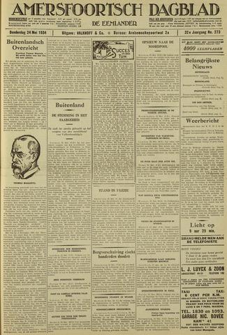 Amersfoortsch Dagblad / De Eemlander 1934-05-24