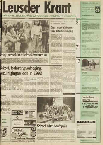 Leusder Krant 1991-10-16