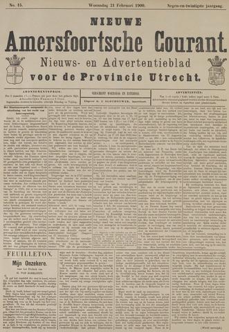 Nieuwe Amersfoortsche Courant 1900-02-21